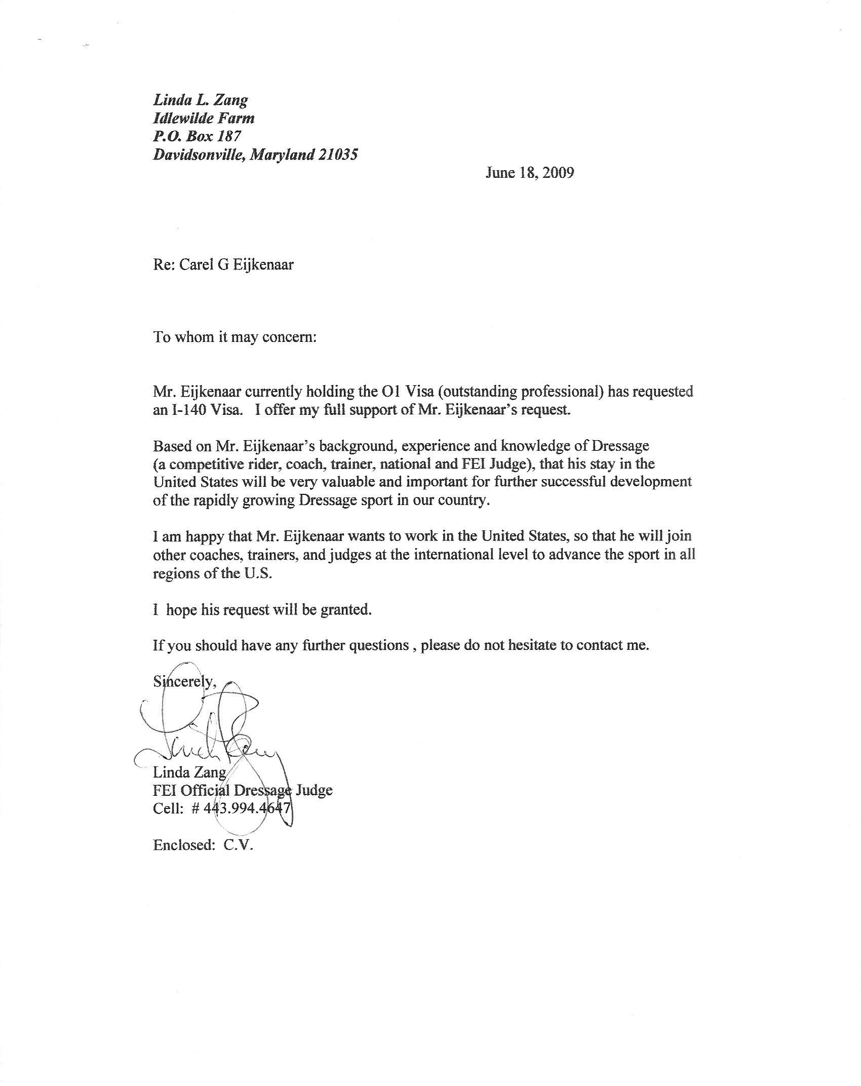 reference letter hha tk recommendations carel eijkenaar dressage reference letter hha 21 04 2017
